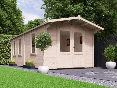 PremiumPlus Avon Grande Log Cabin Main
