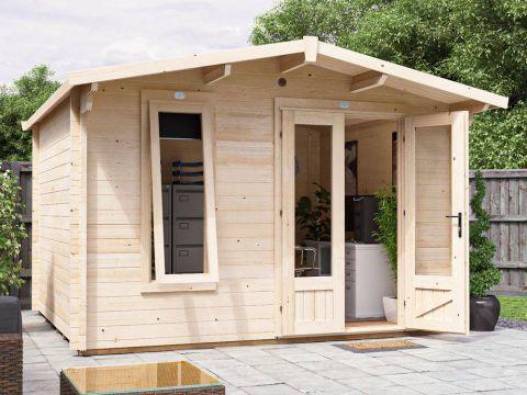 Bat Cabin Log Cabin Main