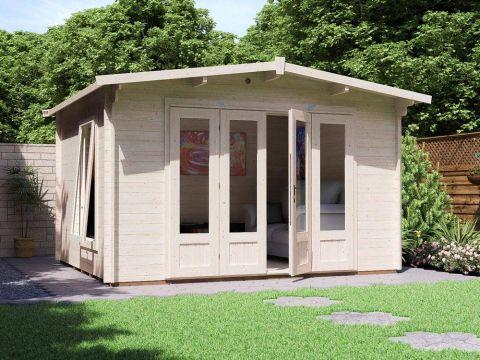 BattleClaw Log Cabin