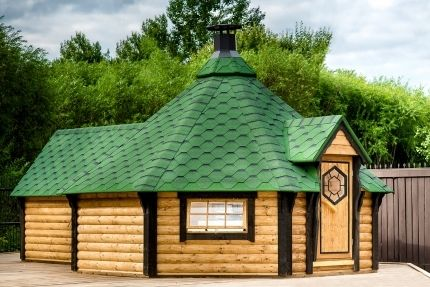 Viking 15-25 man BBQ Hut Extended