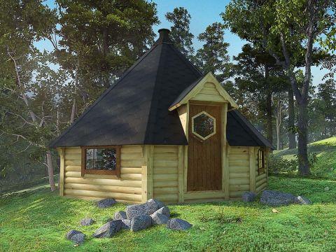 Viking 25-30 man BBQ Hut Installed