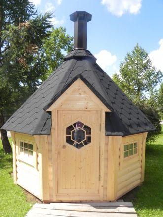 Viking 5-10 man BBQ Hut Display