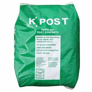 K-Post concrete mix