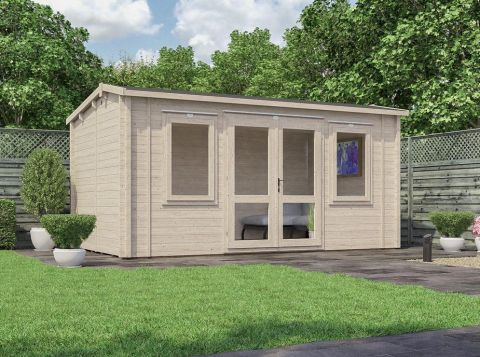 Premium Lantera insulated Log Cabin