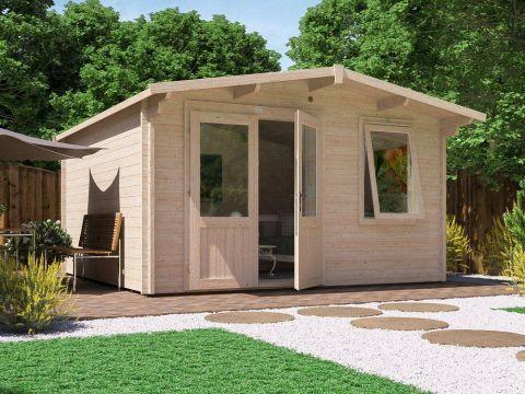 Rhine Log Cabin