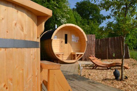 Ø1.9 X 2.5 M Sauna Barrel