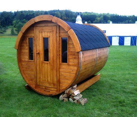 7x6 Viking Sauna Barrel