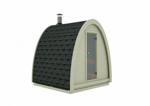 8x8 Garden Sauna Pod