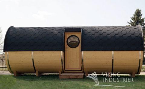 19x7 Viking Sauna Barrel