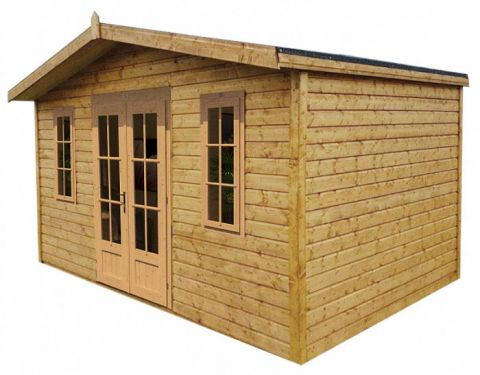 Chalet Tongue & Groove Summerhouse Georgian Style