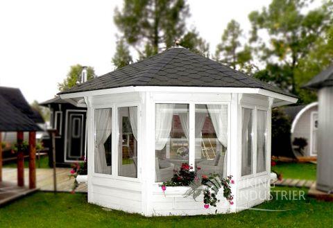 Glazed Sun Garden pavilion