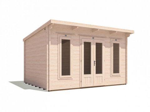 Terminator Log Cabin