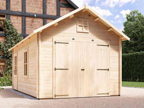 Manbastion Log Barn Garage