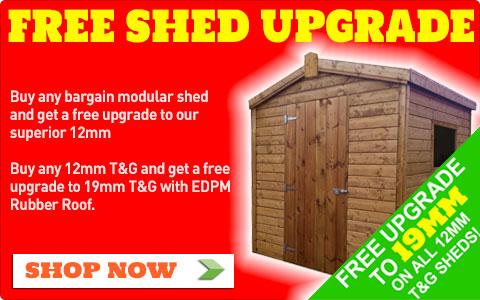Free Shed Upgrade Ireland
