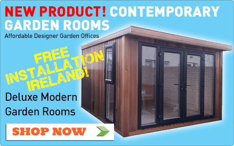 Designer Garden Rooms Ireland