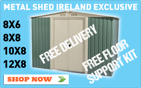 Metal sheds ireland