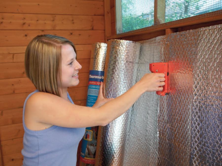 airtec insulation garden buildings