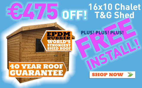 Wooden shed Sale