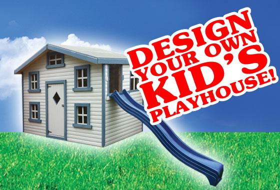 Bespoke kids playhouse