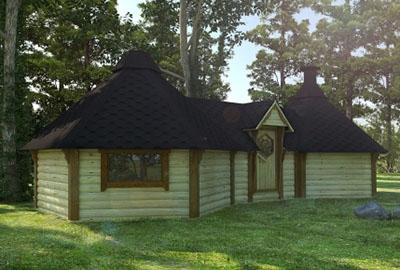 Viking BBQ Hut Extended